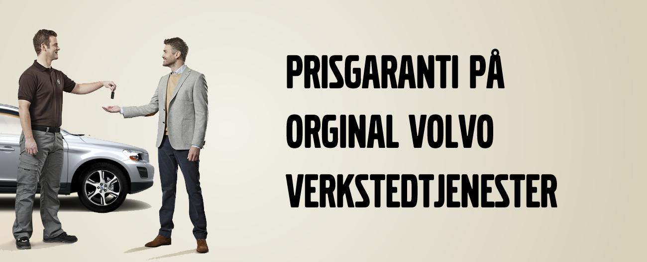 Prisgaranti på Volvo verkstedtjenester